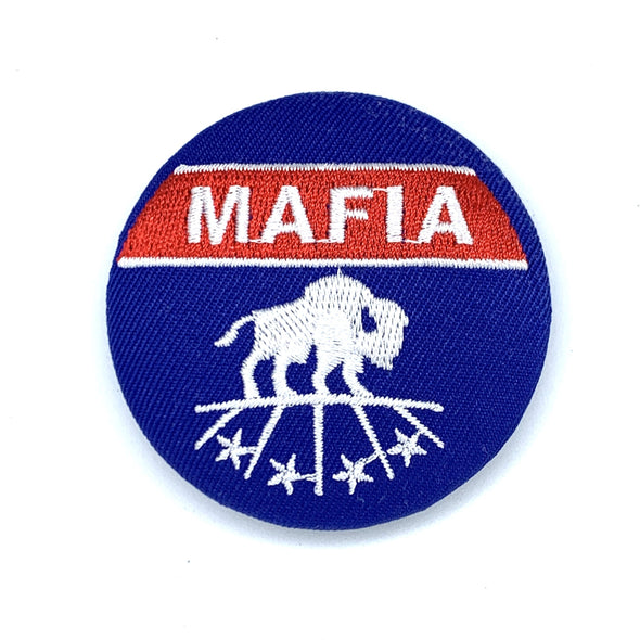 "MAFIA ""Family Crest"" Embroidered Magnetic Patch"