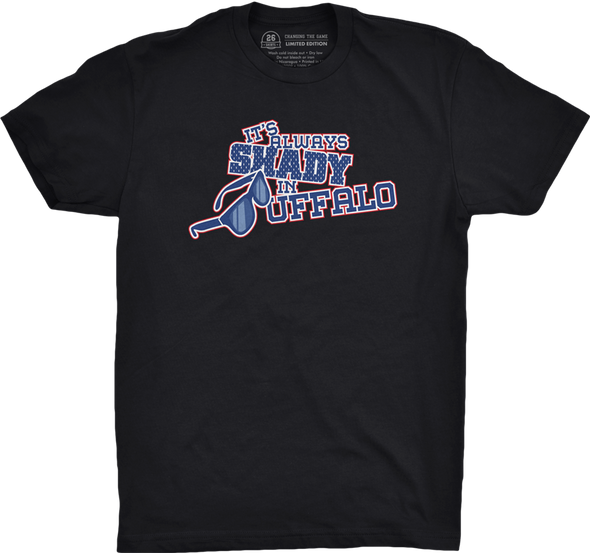 "Buffalo Vol. 2, Shirt 10: ""It's Always Shady in Buffalo"""