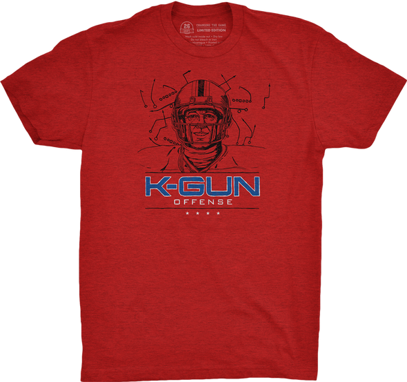 "Buffalo Vol. 3, Shirt 12: ""K-Gun Offense"""