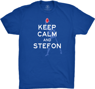 "Buffalo Vol. 8, Shirt 10: ""Keep Calm"""