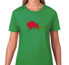 Ladies T-Shirt, Kelly Green (100% cotton)