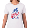 Ladies T-Shirt, White (100% cotton)
