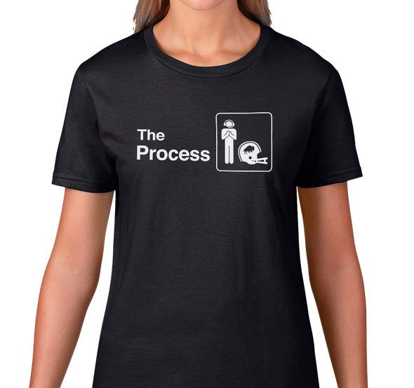 Ladies T-Shirt, Black (100% cotton)