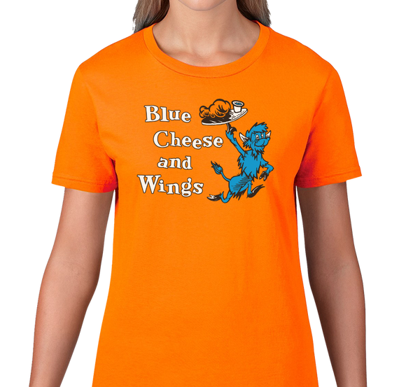 Ladies T-Shirt, Orange (100% cotton)