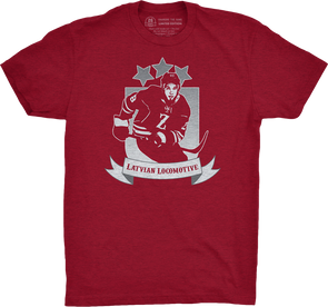 "Buffalo Vol. 2, Shirt 13: ""Latvian Locomotive"""