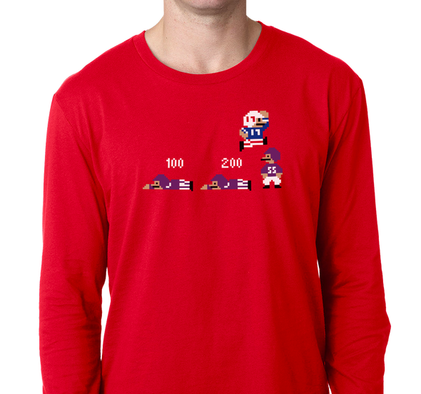 Unisex Longsleeve, Red (100% cotton)