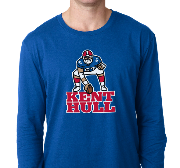 Unisex Longsleeve, Royal (100% cotton)