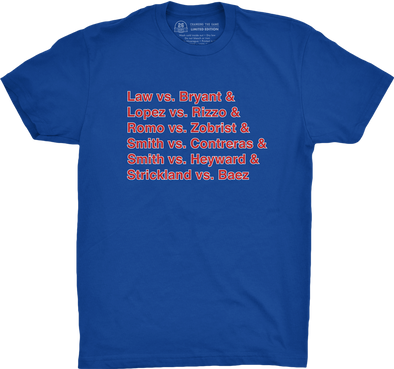 "Chicago Vol. 2, Shirt 22: ""Ninth Inning"""