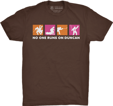 "Chicago Vol. 3, Shirt 9: ""No One Runs on Duncan"""