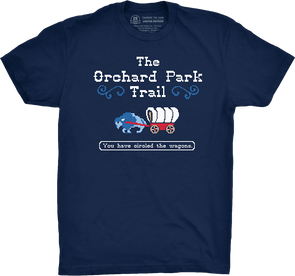 "Buffalo Vol. 7, Shirt 2: ""The Orchard Park Trail"""