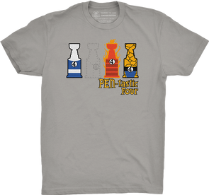 "Pittsburgh Vol. 2, Shirt 12: ""Pen-tastic Four"""