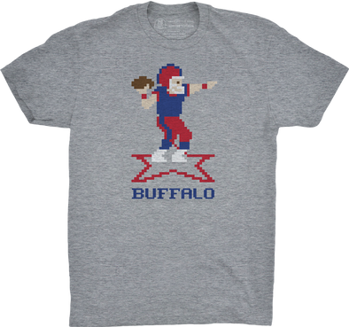 "Buffalo Vol. 3, Shirt 21: ""QB BUFFALO"""