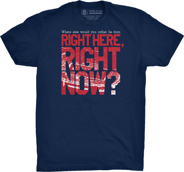 "Buffalo Vol. 3, Shirt 19: ""Right Here, Right Now"""