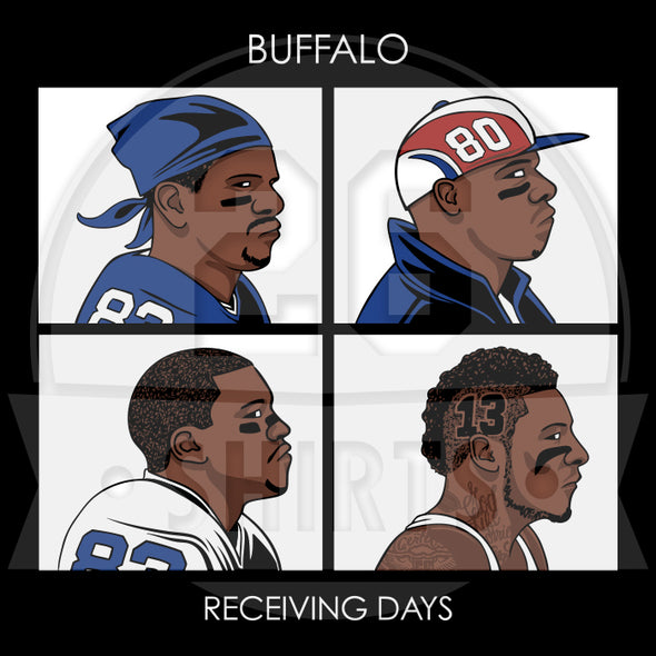 "Buffalo Vol. 5, Shirt 18: ""Receiving Days"""
