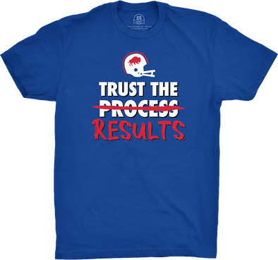 "Buffalo Vol. 9, Shirt 1: ""Trust the Results"""