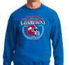 Crew Neck Sweatshirt, Royal (50% cotton, 50% polyester)