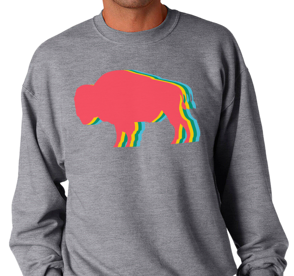 Crewneck Sweatshirt, Oxford (50% cotton, 50% polyester)