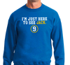 Crewneck Sweatshirt, Royal (50% cotton, 50% polyester)