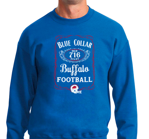 "Buffalo Vol. 7, Shirt 15: ""Blue Collar Football"""