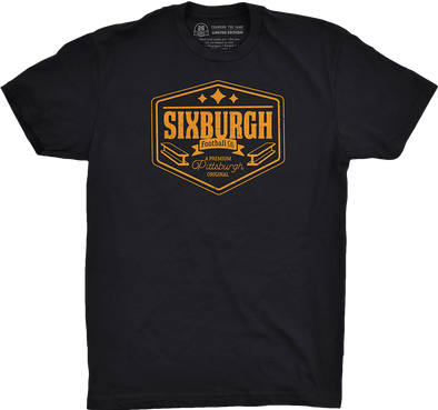 "Pittsburgh Vol. 2, Shirt 2: ""Sixburgh Football Co."""