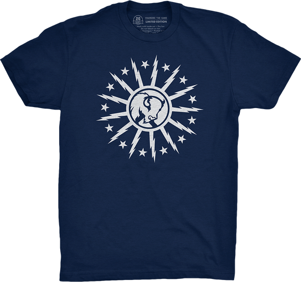 "Buffalo Vol. 5, Shirt 14: ""Stars and Bolts"""