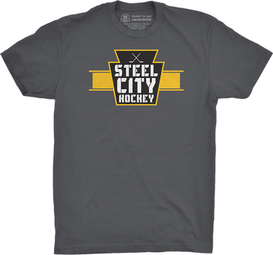 "Pittsburgh Vol. 2, Shirt 17: ""Steel City Hockey"""