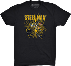 "Pittsburgh Vol. 2, Shirt 26: ""Steel Man"""