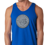 Unisex Tank Top, Royal (100% cotton)