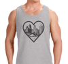 Unisex Tank Top, Heather Gray (90% cotton, 10% polyester)