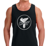 Unisex Tank Top, Black (100% cotton)