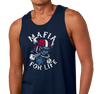 Unisex Tank Top, Navy (100% cotton)