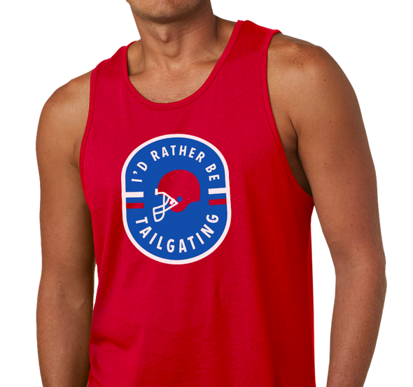 Unisex Tank Top, Red (100% cotton)