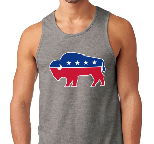 Unisex Tank Top, Dark Heather Gray (60% cotton, 40% polyester)