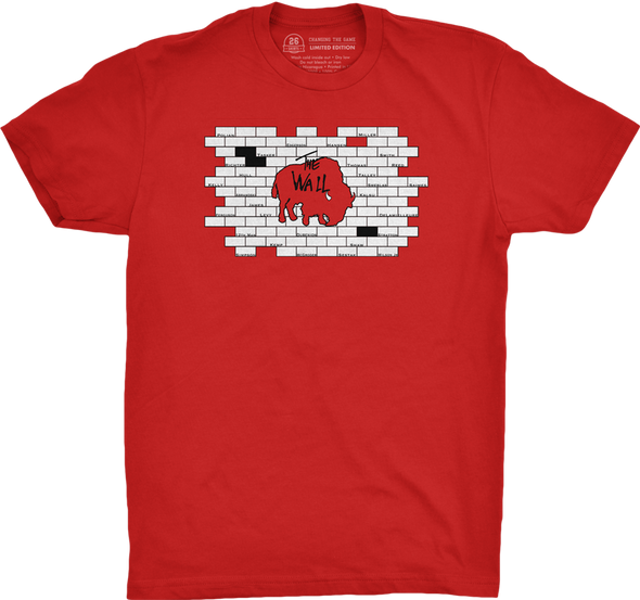 "Buffalo Vol. 2, Shirt 24: ""The Wall"""
