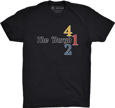 "Pittsburgh Vol. 1, Shirt 11: ""The 'Burgh"""