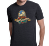 Tri-Blend T-Shirt, Vintage Black (50% polyester, 25% cotton, 25% polyester)