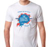 Tri-Blend T-Shirt, Heather White (50% cotton, 25% polyester, 25% rayon)