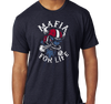 Tri-Blend T-Shirt, Vintage Navy (50% cotton, 25% polyester, 25% rayon)
