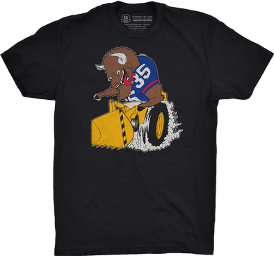 "Buffalo Vol. 4, Shirt 24: ""Toldozer"""