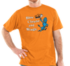 Unisex T-Shirt, Orange (60% cotton, 40% polyester)