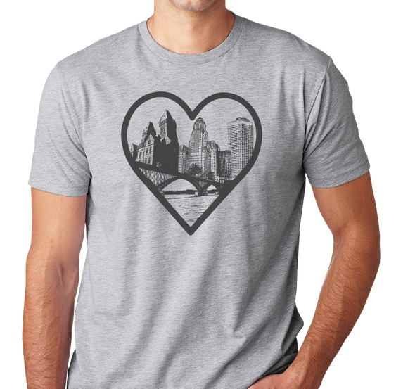 Unisex T-Shirt, Heather Gray (90% cotton, 10% polyester)