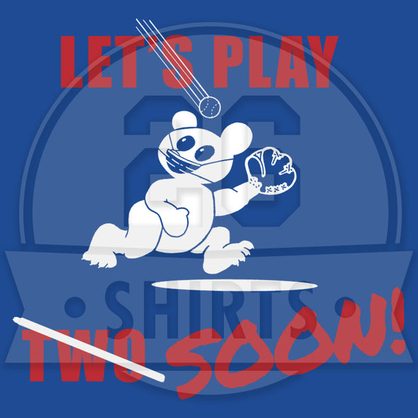 "Chicago Vol. 6, Shirt 12: ""Let's Play Soon!"""