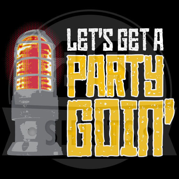 "Pittsburgh Vol. 5, Shirt 9: ""Let's Get a Party Goin'"""