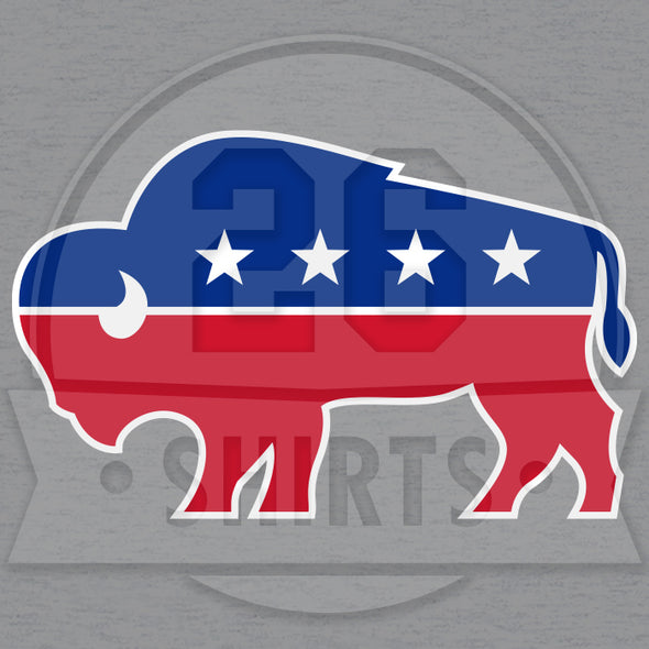 "Buffalo Vol. 7, Shirt 23: ""Buffalo Party"""