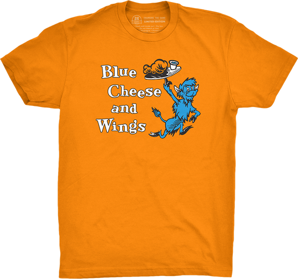 "Buffalo Vol. 6, Shirt 24: ""Blue Cheese and Wings"""