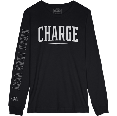 CHARGE: Wordmark longsleeve