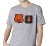 Youth T-Shirt, Heather Gray (90% cotton, 10% polyester)