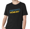 Youth T-Shirt, Black (60% cotton, 40% polyester)