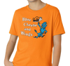 Youth T-Shirt, Orange (60% cotton, 40% polyester)