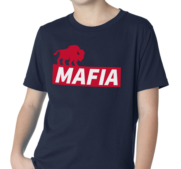 Youth T-Shirt, Navy (100% cotton) Also available in Royal